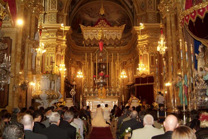 xaghra basilica church gozo wedding
