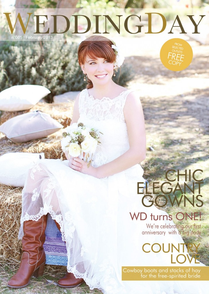 Wedding Day magazine february 2013 cover